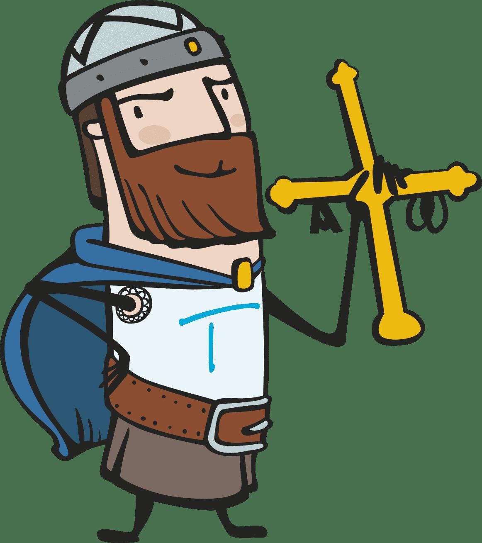 Conecta-T , celta, cruz de la victoria, InternetAstur